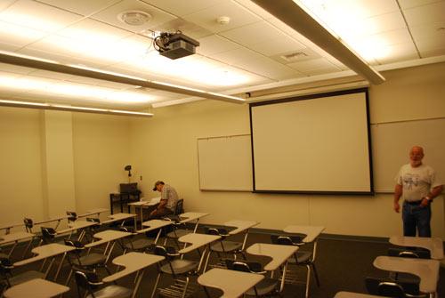 projectorclassroom